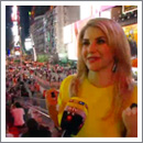 Beatrice Egli dreht Video in New York